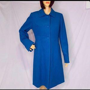 J crew blue coat 3 buttons